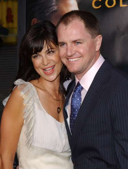 Catherine Bell and Adam Beason together