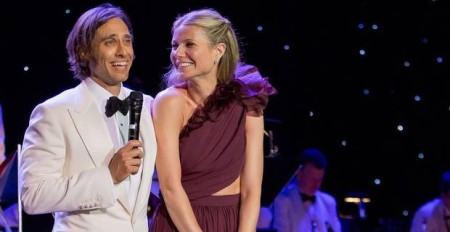 Gwyneth Paltrow and Brad Falchuk at a private ceremony