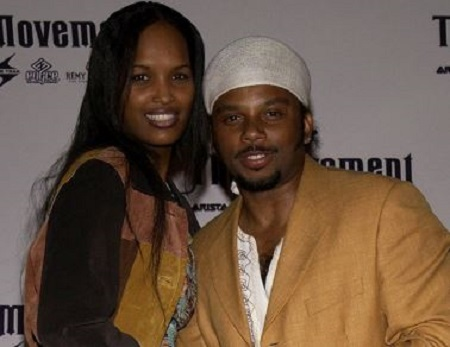 Bobby and his ex-girlfriend Melika Williams on the award show