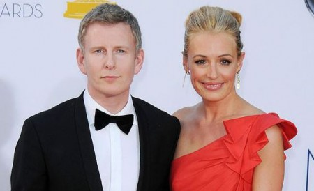 Cat Deeley and her spouse, Patrick Kielty