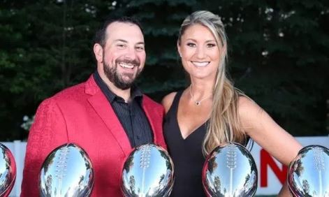 Raina Patricia with her husband Matt Patricia
