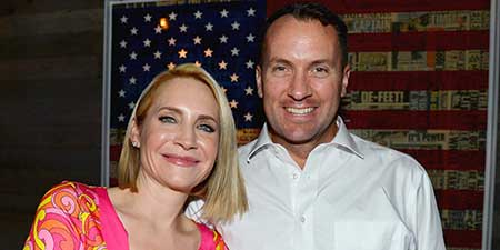 Andrea with her husband, Tony at a public event.