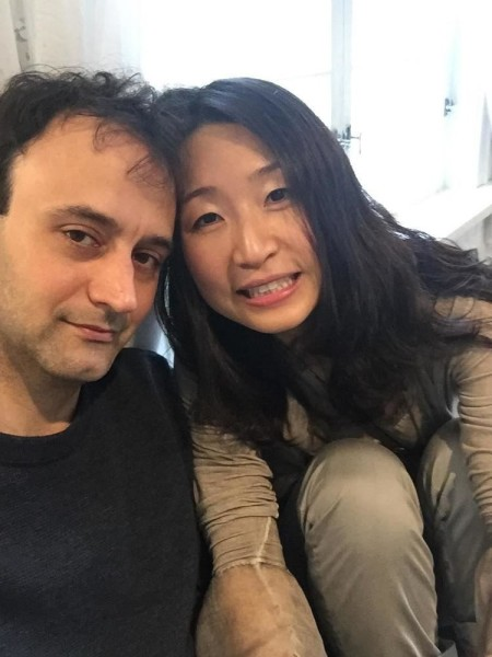 Tom Szaky's wife, Soyeon Kate Lee with Ran Dank