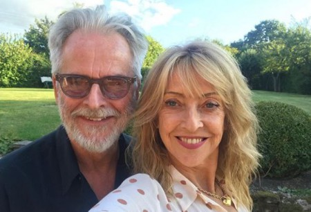 Trevor Eve and his wife, Sharon Maughan spending quality time