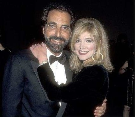 Crystal Bernard and Tony Thomas appearing at an event together