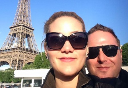 Matt and Linette in Paris