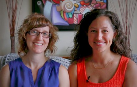 Sproutable founders, Alanna Beebe and Julietta Compagno