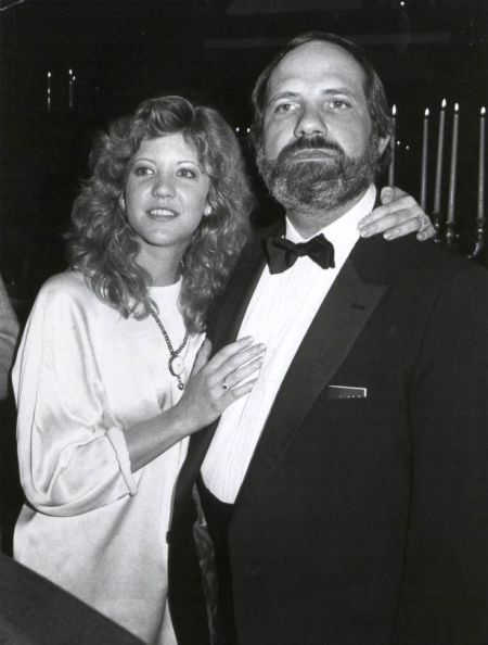 Brian De Palma with his first wife, Nancy Allen