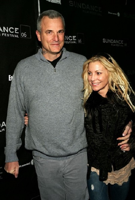 Nick Cassavetes and his second wife, Heather Wahlquist together