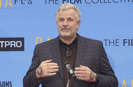 Nick Cassavetes speaking at an event