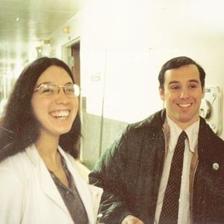 Howard and his wife during their college days