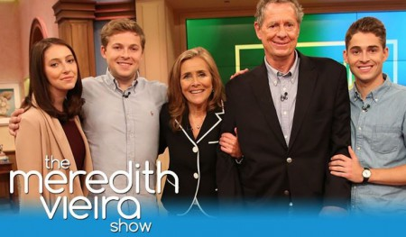 Meredith and Richard's chidren on The Meredith Show