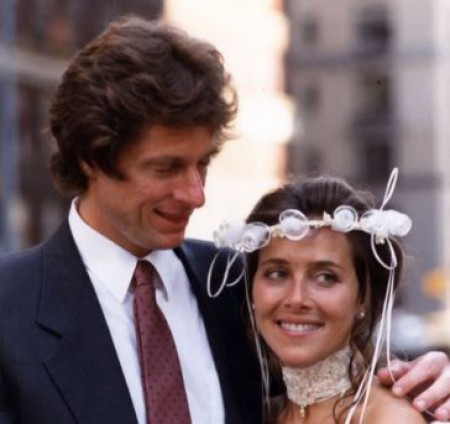 Richard and Meredith's wedding in 1986.