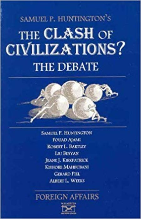 James Hoge's book is The Clash of Civilizations?: The Debate by Foreign Affairs (1996-01-03)