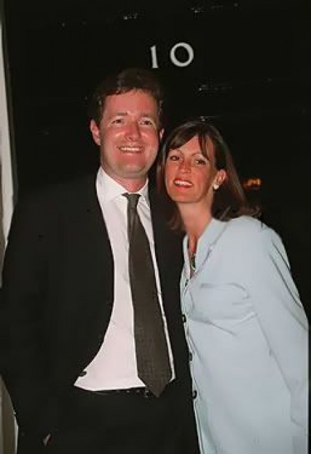 Marion Shalloe with her ex-husband Piers Morgan