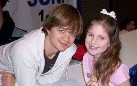 Jason Earles with his daughter Noah Earles