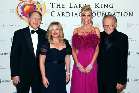 Wayne Lapierre and Susan Lapiere at The Larry King Cardiac Foundation charity events