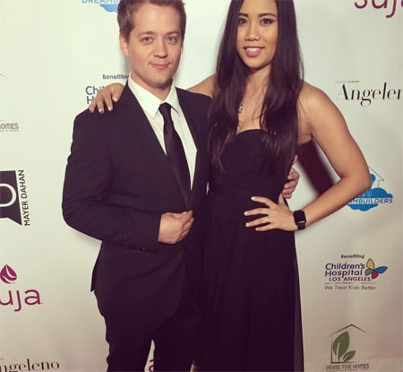 Jason Earles and his wife Katie Drysen