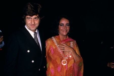 Maggie Johnson's second husband, Henry Wynberg with his girlfriend, Elizabeth Taylor