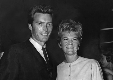 Maggie Johnson with her husband, Clint Eastwood