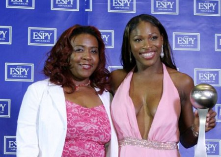Yetunde Price and Serena Williams