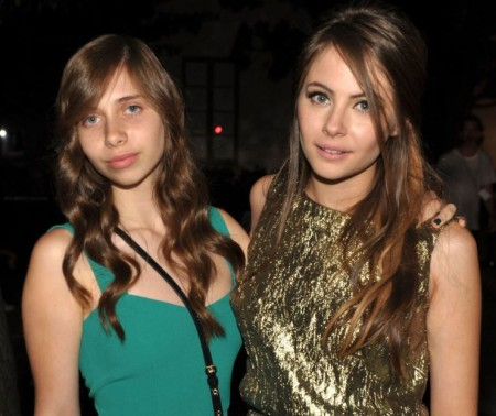 Piper De Palma with her sister, Willa Holland