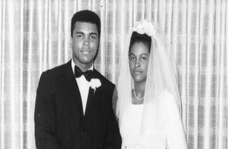 Khalilah Ali along with his ex-spouse, late Muhammad Ali