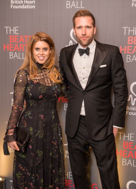 Wilfred Frost with Princess Beatrice