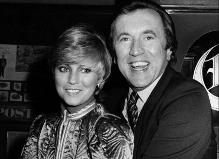 David Frost and Lynne Frederick