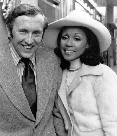 David Frost and Diahann Carroll