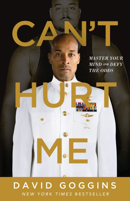 The cover of Can't Hurt Me: Master Your Mind and Defy the Odds
