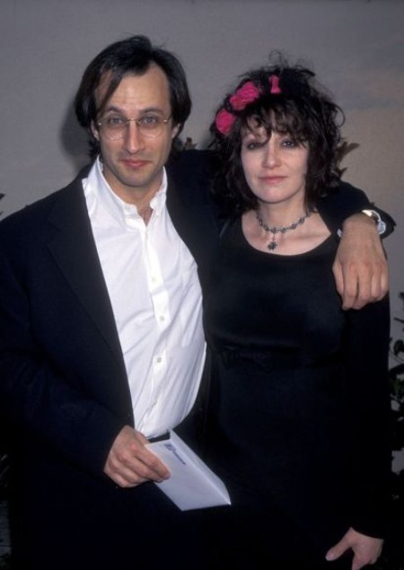 Amy Heckerling and Bronson Pinchot