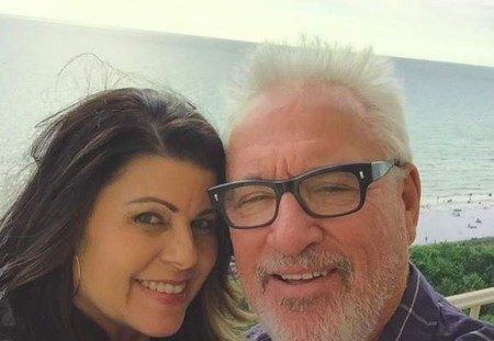 Jaye Sousoures and Joe Maddon enjoying a romantic gateaway