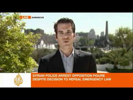 Cal Perry reporting from Damascus for Al Jazeera