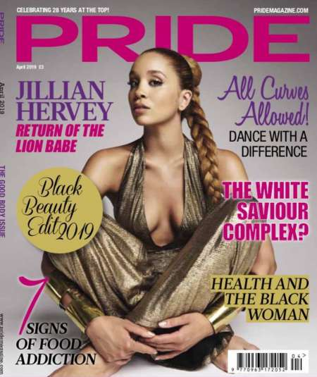 Jillian Hervey is on the cover of Pride magazine