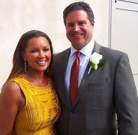 Vanessa Williams with her husband, Jim Skrip