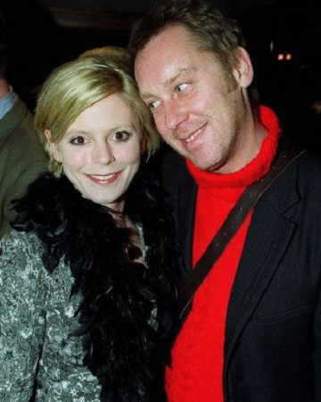 Emila with his ex-boyfriend, Vic Reeves.