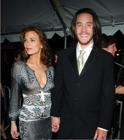 Tognoni and her former lover Tom attending 32nd Annual Daytime Emmy Awards
