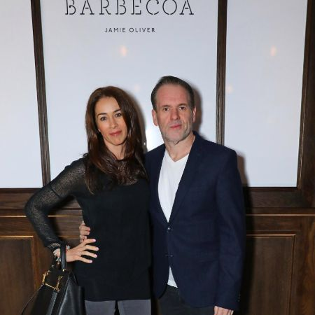 Tiffany and Chris in the launch day of Barbecoa