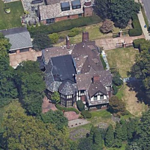 Ariel view of Mike Tomlin's house
