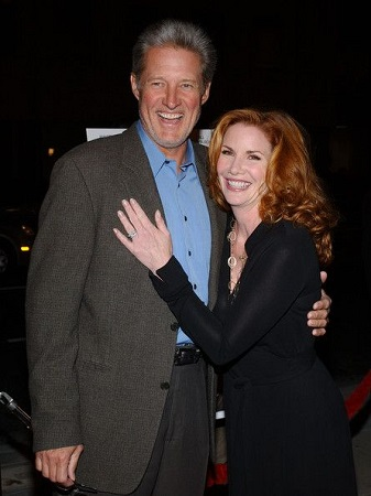Bruce and his former Melissa Gilbert