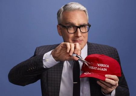 Keith Olbermann is unmarried hence he doesn't have a wife