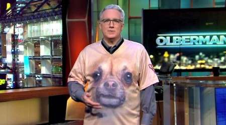 Keith Olbermann received a Genesis award in 2015 for raising voice for animal protection.