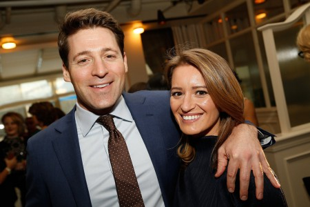 Katy Tur and Tony Dokoupil are husband and wife and they share a son.