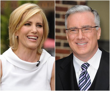 Keith Olbermann and Laura Ingraham had an affair in 1997.