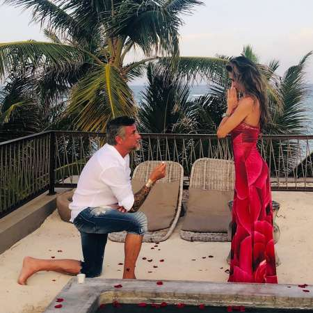 Richard Rawlings proposing his longtime-girlfriend, Katerina Deason