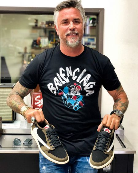 Richard Rawlings is showing his super sneakers