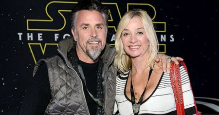 Richard Rawlings with his former wife, Suzanne Marie Mergele