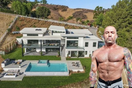 Joe Rogan bought a luxurious house in Bell Canyon back in 2018