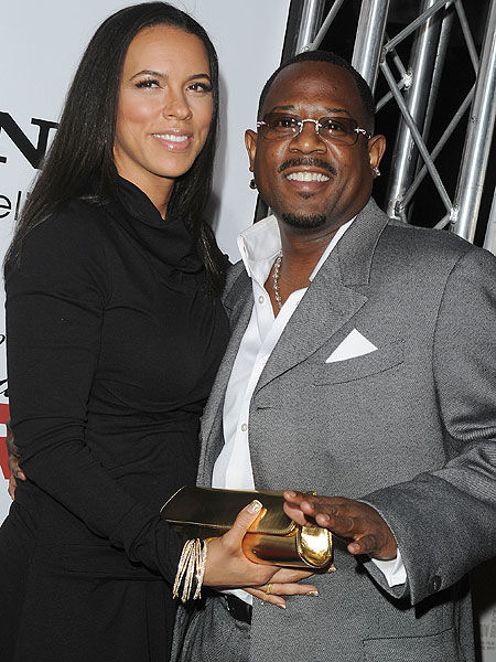 Martin Lawrence and his former wife Shamicka Gibbs at an event